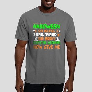 This Halloween Tired Moody Elevator Mechan T-Shirt
