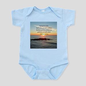 GALATIANS 5:22 Infant Bodysuit