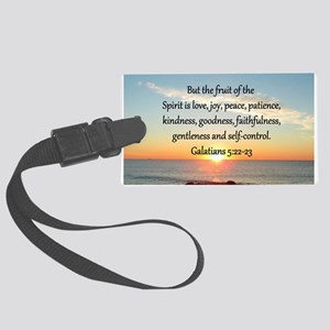 GALATIANS 5:22 Large Luggage Tag