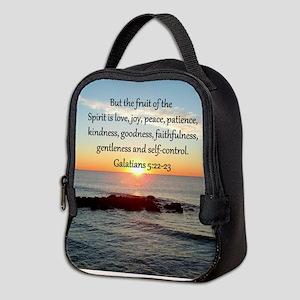 GALATIANS 5:22 Neoprene Lunch Bag