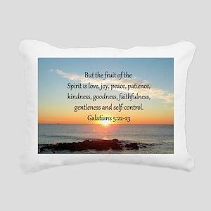 GALATIANS 5:22 Rectangular Canvas Pillow