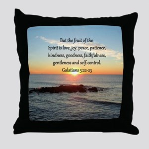 GALATIANS 5:22 Throw Pillow