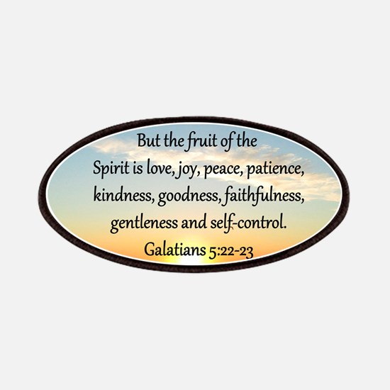 GALATIANS 5:22 Patches