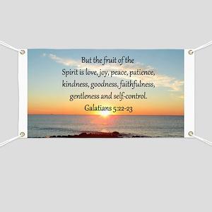 GALATIANS 5:22 Banner
