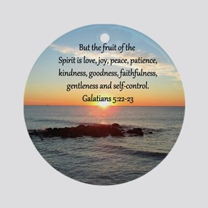 GALATIANS 5:22 Ornament (Round)