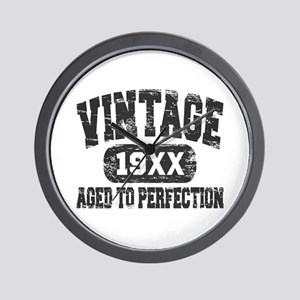 Personalize Vintage Aged To Perfection Wall Clock