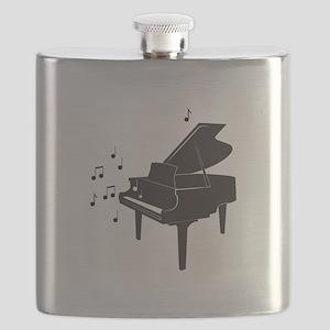 Grand Piano Flask
