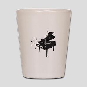 Grand Piano Shot Glass