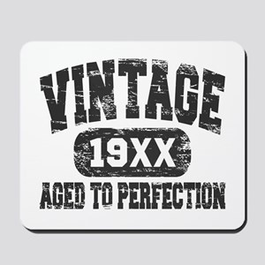 Personalize Vintage Aged To Perfection Mousepad