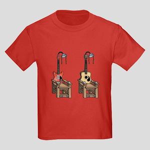Acoustic Chair Kids Dark T-Shirt