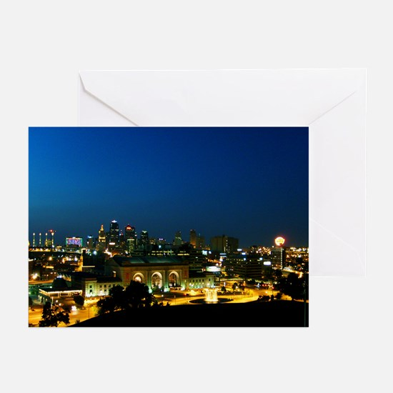 """Vivid City"" Greeting Cards (Pk of 10)"
