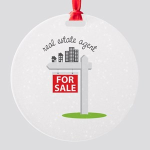 Real Estate Agent Ornament