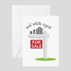 Real Estate Agent Greeting Cards