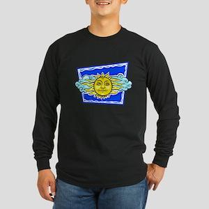 SUMMER SOLSTICE Long Sleeve Dark T-Shirt