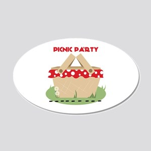 Picnic Party Wall Decal