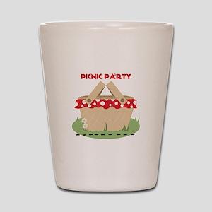 Picnic Party Shot Glass