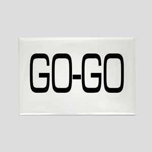 Go-Go Rectangle Magnet