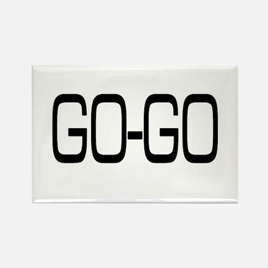 Go-Go Rectangle Magnet