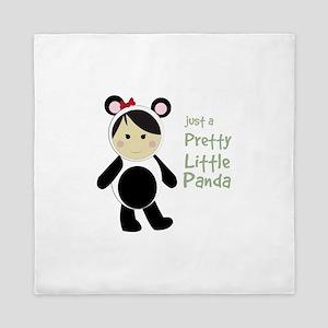 Pretty Little Panda Queen Duvet