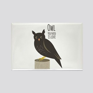 Owl Love Magnets