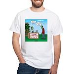 Zombie Corn Maze White T-Shirt