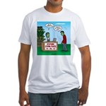 Zombie Corn Maze Fitted T-Shirt