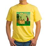 Zombie Corn Maze Yellow T-Shirt