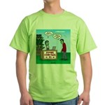 Zombie Corn Maze Green T-Shirt