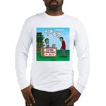 Zombie Corn Maze Long Sleeve T-Shirt
