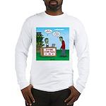 Zombie Corn Maze Long Sleeve T-Shirt