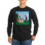 Zombie Corn Maze Long Sleeve Dark T-Shirt