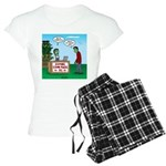 Zombie Corn Maze Women's Light Pajamas