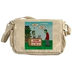 Zombie Corn Maze Messenger Bag