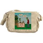 Zombie Corn Maze Messenger Bag