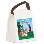 Zombie Corn Maze Canvas Lunch Bag