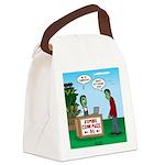 Zombie Corn Maze Canvas Lunch Bag