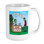 Zombie Corn Maze 15 oz Ceramic Large Mug