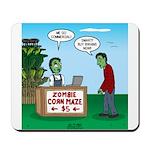 Zombie Corn Maze Mousepad