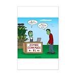 Zombie Corn Maze Mini Poster Print