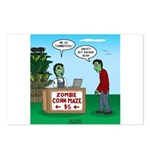 Zombie Corn Maze Postcards (Package of 8)