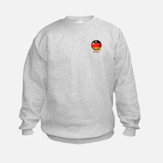 Germany Flag Soccer Ball (PP) Sweatshirt