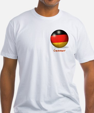Germany Flag Soccer Ball (PP) Shirt