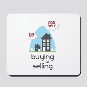 Buying Or Selling Mousepad