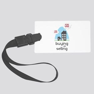 Buying Or Selling Luggage Tag