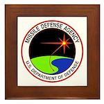Missile Defense Framed Tile
