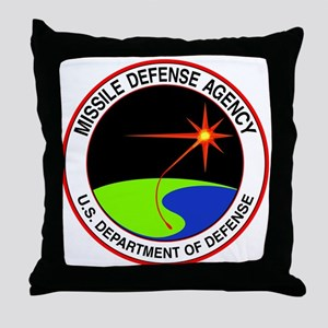 Missile Defense Throw Pillow