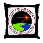 Missile Defense Throw Pillow