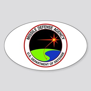 Missile Defense Oval Sticker