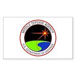 Missile Defense Rectangle Sticker