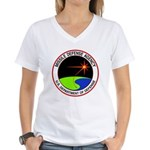 Missile Defense Women's V-Neck T-Shirt